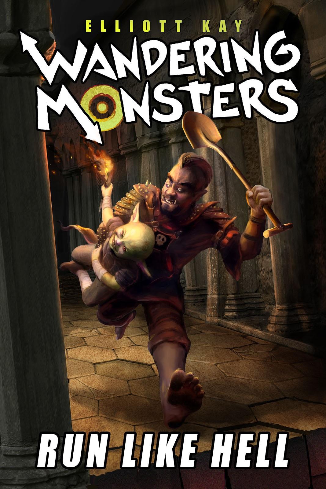 Wandering Monsters New Book New Series Elliott Kay